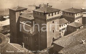1945 MANTOVA Castello di SAN GIORGIO Panorama *Cartolina FP VG