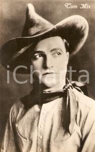 1920 ca CINEMA Cowboy Tom MIX Actor *Cartolina FP NV