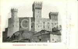 1904 ACQUAPENDENTE (VT) Castello di Torre ALFINA *Cartolina FP VG