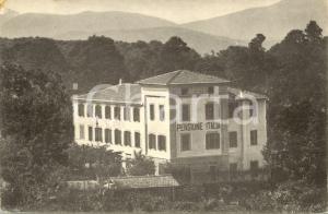 1930 ca FIUGGI FONTE Pensione ITALIA di Alfredo AMBROSI *Cartolina FP NV