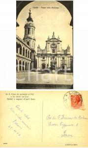 1954 LORETO Piazza della Madonna *Padre Oderico a padre Francesco da MONTEROSSO