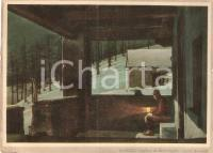 1940 ca VIGEZZO (VB) Notte di luna a COLMA DI CRAVEGGIA *Prova stampa Cartolina