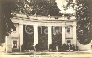 1935 FIUGGI FONTE (FR) L'Ingresso della Fonte *Cartolina ANIMATA FP VG