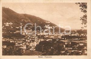 1928 MASSA (MS) Panorama della città *Cartolina postale FP VG