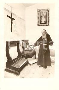 1942 Padre LEOPOLDO da Castelnuovo Frati Minori CAPPUCCINI *Cartolina FP NV
