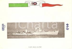 1940 ca MARINA MILITARE Regio cacciatorpediniere Antonio DA NOLI Cartolina FG NV