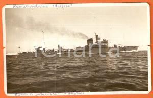 1935 ca MARINA MILITARE Regia nave FOLGORE Cacciatorpediniere *Cartolina FP NV
