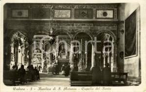 1932 PADOVA Basilica di SANT'ANTONIO Fedeli nella cappella del SANTO *FP VG