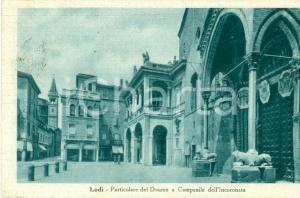 1930 ca LODI Duomo della VERGINE ASSUNTA Campanile ANNUNZIATA *Cartolina FP VG