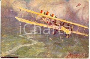 1918 WW1 Caproni CA36 sull'Isonzo, Amerigo Contini