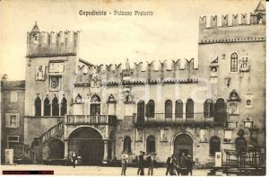 Capodistria anni '30 Palazzo Pretorio *Immagine animata