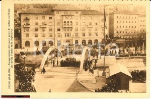 1926 FIUME ITALIANA Croazia - inaugurazione ponte