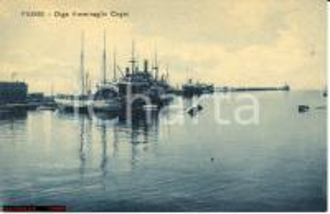 1930 ca FIUME ITALIANA Diga Ammiraglio CAGNI FP NV