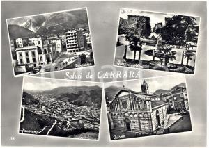 1969 CARRARA (MS) Vedutine saluti da Carrara FG NV