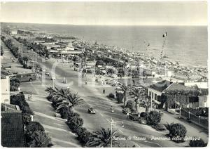 1965 MARINA DI MASSA (MS) Panorama generale spiaggia