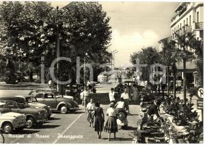 1959 MARINA DI MASSA (MS) La passeggiata ANIMATA FG VG
