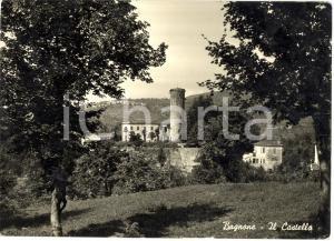 1958 BAGNONE (MS) Veduta del Castello cartolina FG VG