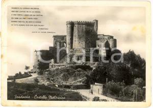 1951 FOSDINOVO (MS) Veduta del Castello MALASPINA FG VG
