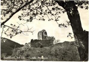 1964 PONTREMOLI (MS) Castello MALASPINA a GRONDOLA FG