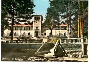 1955 CAMIGLIATELLO SILANO (CS) Colonia silana *Cartolina FG VG