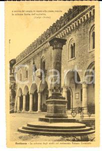 1946 BERTINORO (FC) Colonna degli anelli e Palazzo Comunale *FP VG