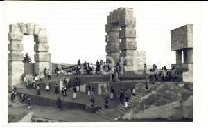 1950 SIRACUSA Spettacolo teatrale tra le rovine *Cartolina FP VG