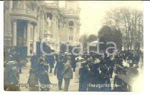 1911 EXPO TORINO Inaugurazione al Parco del VALENTINO *Cartolina FP VG