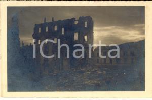 1919 WW1 UDINE Rovine piazza XX SETTEMBRE dopo l'invasione *Cartolina FP VG