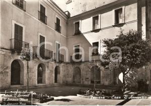 1950 ca PESCARA Panorama Casa natale Gabriele D'ANNUNZIO Animata *Cartolina FG
