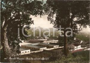 1954 ASCOLI PICENO Panorama della SCUOLA ALLIEVI UFFICIALI *Cartolina FG VG