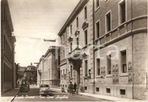 1962 ASCOLI PICENO Via Dino ANGELINI Manifesti FIERA AGRICOLA *Cartolina FG VG