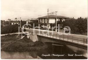 1970 circa CINQUALE - MONTIGNOSO (MS) Panorama HOTEL BERNINA Cartolina FG VG