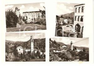 1965 POLCENIGO (PN) Panorama VEDUTINE Cartolina FG VG