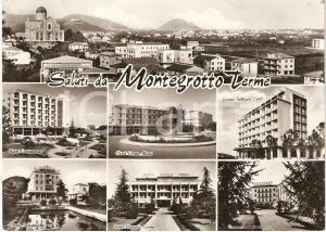 1969 MONTEGROTTO TERME (PD) Hotel VEDUTINE Cartolina FG VG