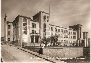 1952 SAN CATALDO (CL) Centro di rieducazione MINORENNI Cartolina animata FG VG