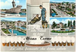 1965 ABANO TERME (PD) Città fumante che dona salute VEDUTINE FG VG