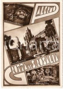 1950 ca PALERMO Vedutine GROTTA DI SANTA ROSALIA Cartolina FG NV