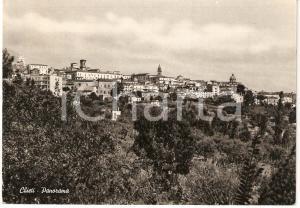 1955 CHIETI Scorcio panoramico CARTOLINA FG VG