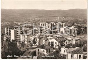 1954 CHIETI Zona industriale RIONE MADONNA DEGLI ANGELI Cartolina FG VG