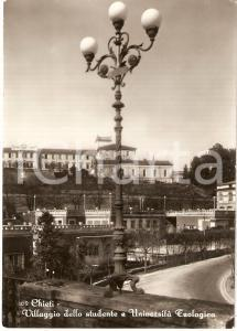1953 CHIETI Villaggio dello studente UNIVERSITA' TEOLOGICA *Cartolina FG VG