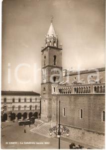 1951 CHIETI La cattedrale di SAN GIUSTINO *Cartolina animata FG VG