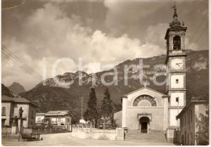 1957 MAGGIANICO (LC) Piazza della Chiesa *Cartolina Animata FG VG