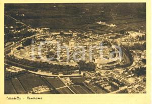 1940 ca CITTADELLA (PD) Veduta aerea generale *Cartolina postale FG NV