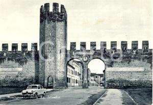 1950 ca MONTAGNANA (PD) Porta XX SETTEMBRE *Cartolina animata FG VG