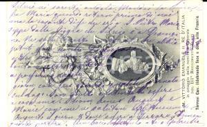 1917 COLOGNOLA AI COLLI Cartolina commemorativa a Pia BEVILACQUA LAZISE
