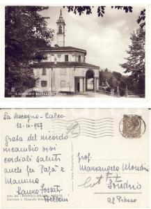 1957 IMBERSAGO (LC) Santuario Madonna del Bosco *Autografo Laura FOSSATI BELLANI