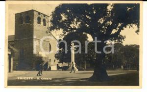 1929 TRIESTE San Giusto *Cartolina a contessa Maria BOZZOLI NINNI FP VG