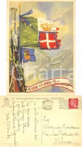 1941 ALESSANDRIA 37° Reggimento Fanteria Ravenna *Cartolina Vittorio GRUGNI