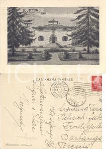 1936 SCARPERIA (FI) Villa il Fango *Cartolina a Teresa BELUSCHI FABENI FG VG