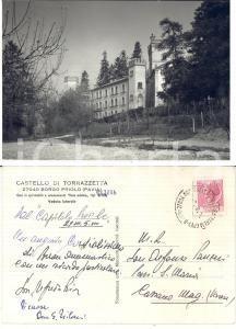 1970 ca BORGO PRIOLO (PV) Castello di TORRAZZETTA *Don Alfredo RIVA FG VG